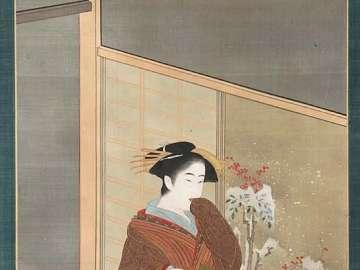 Women Representing the Three Cities (Osaka)