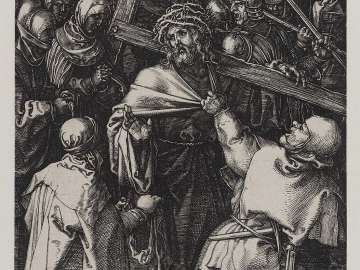 Bearing of the Cross (Engraved Passion)