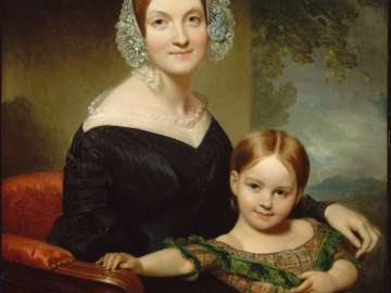 Georgianna Buckham and Her Mother (Anna Traphagen Buckham)