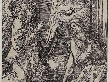 Annunciation (Small Passion)