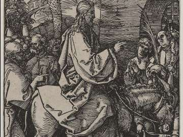 Entry into Jerusalem (Small Passion)