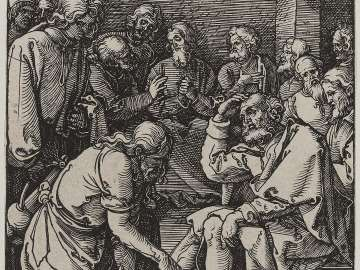 Christ Washing the Feet of the Disciples (Small Passion)