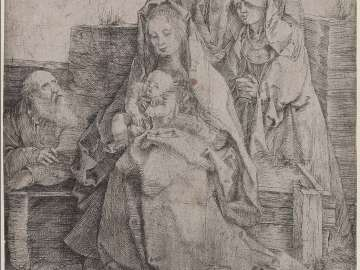Holy Family with Saint John, The Magdalen, and Nicodemus