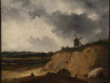 Windmill on a Bluff
