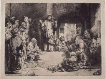 Christ Preaching (