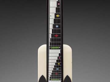 Lap steel guitar (Dynamic model)