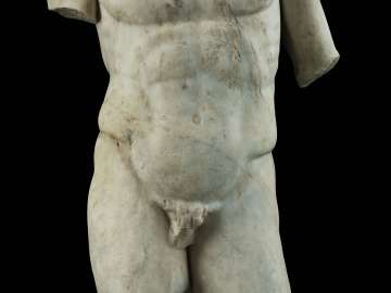 Male torso (Mercury?)