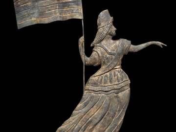 Goddess of Liberty weather vane