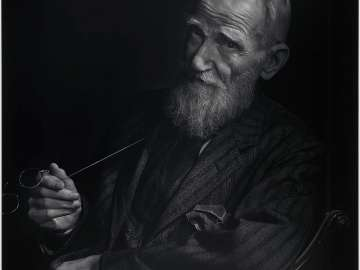 George Bernard Shaw (head and shoulders)