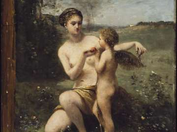 Venus Clipping Cupid's Wings