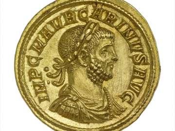 Aureus with bust of Carinus