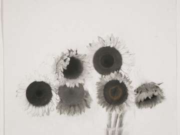 Still-Life with Six Sunflowers