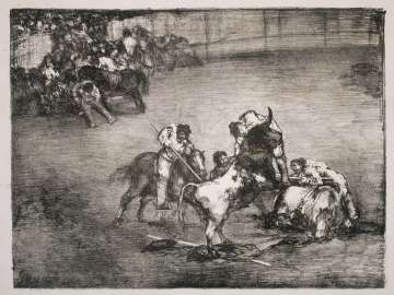 Picador Caught by a Bull; from the so-called