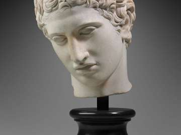 Head of a youth (