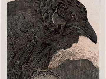 Old Crow (1908 Calendar: January)