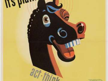 It's Plain Horse Sense—Act -Think—Safely