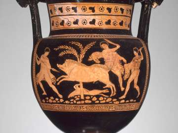Mixing bowl (column-krater)