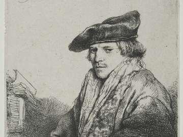 Young Man in a Velvet Cap
