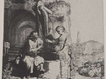 Christ and the Woman of Samaria: Among the Ruins