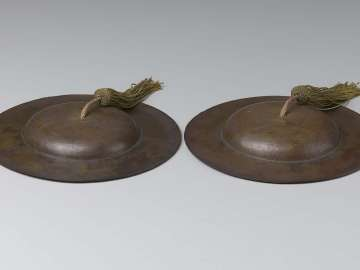 Pair of cymbals (tongbo)