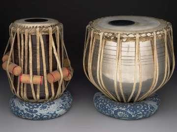 Pair of drums (tabla and baya)