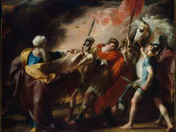 Saul Reproved by Samuel