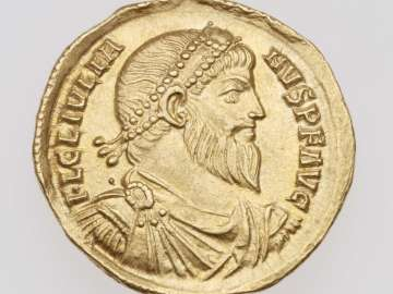 Solidus with bust of Julian II