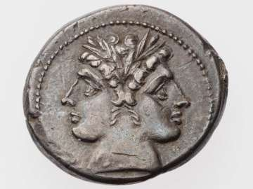 Didrachm with head of Janus