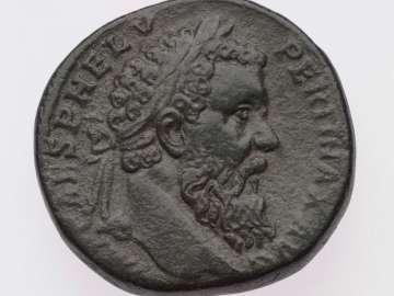 Sestertius with head of Pertinax