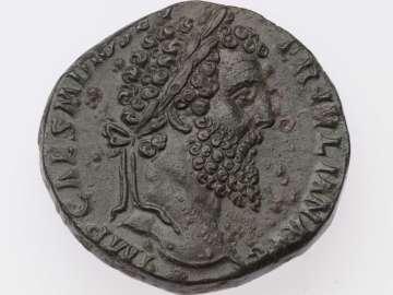 Sestertius with bust of Didius Julianus