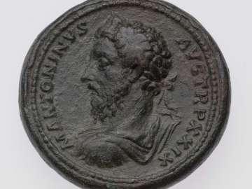 Medallion with bust of Marcus Aurelius