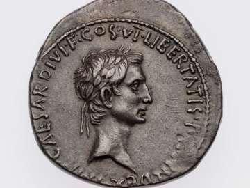 Cistophorus with head of Octavian