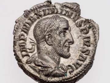 Denarius with bust of Maximinus I Thrax