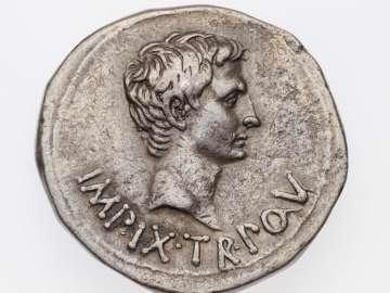 Cistophorus with head of Augustus