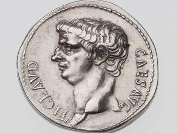 Cistophorus with head of Claudius
