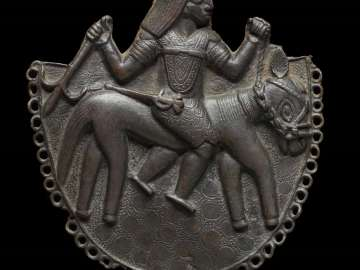 Pendant of a Portuguese horseman