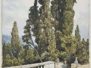Cypresses of the Villa d'Este, Tivoli