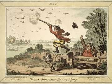 Cockney - Sportsmen shooting Flying