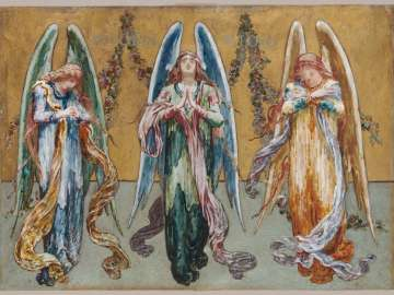 Angels Representing Adoration, Praise, Thanksgiving, and Love