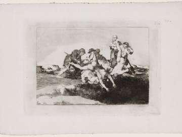 Caridad. (Charity); Fatales consequencias de la sangrienta guerra en España con Buonaparte. Y otros caprichos enfaticos [Disasters of War], plate 27.