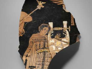 Fragment of a mixing bowl (krater)