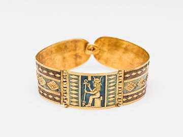 Bracelet with image of Hathor