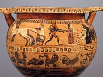 Mixing bowl (column krater)