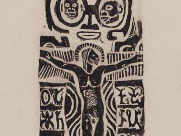 Oyez Hui Iesu (Christ on the Cross)