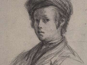 Portrait of a Young Boy (recto); Studies of the Head and Shoulders of a Boy and of a Hand (verso)