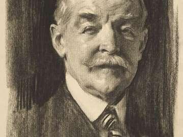 Portrait of Dr. Denman Waldo Ross