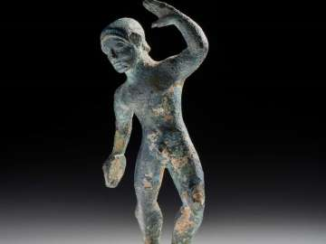 Statuette of a discus thrower (diskobolos)