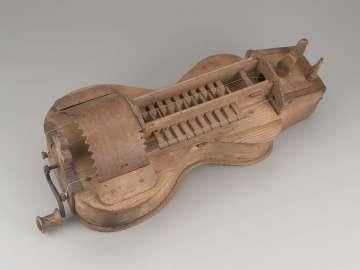 Hurdy-gurdy (lira)
