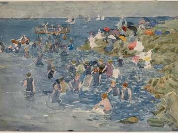 Bathing, Marblehead