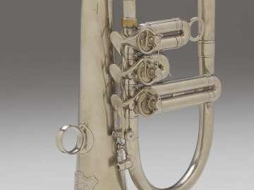 Valved bugle in E-flat